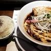 河内の中華そば 醤 - 料理写真:ライス&熟成中華そば