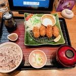 大戸屋 - 広島産かきフライ定食