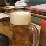 まる豚 - ドリンク写真:生ビール