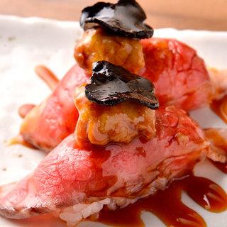 ★遂に大人気店が名古屋に初出店『肉寿司』ネタが魚では無く肉!