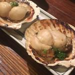 炉ばた焼 漁火 - 帆立貝