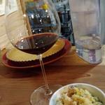 ワインラクダ - 赤ワインとポテサラ