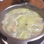 99744884 - 水炊き鍋