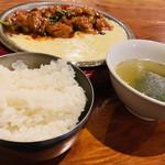 99744988 - チーズダッカルビ定食(ライススープ付き) 1,000円税別
