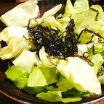 だるま高円寺 - 2011.10.15 塩昆布きゃべつ
