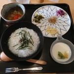 茶えずり - 料理写真:おかゆset