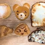 ベーカリールーブル - 料理写真:今回買ったパン