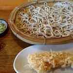 松月庵 - 料理写真:天せいろ(1,300円)