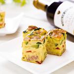 神戸クック ワールドビュッフェ - 『バスク風オムレツ』 色とりどりの食材が入ったフランス・バスク地方の郷土料理です★