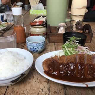 洋食の朝日 - 料理写真:やはり、一度はいただいてみたい、朝日のビフカツです!(2019.1.8)