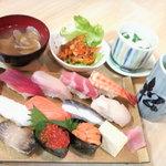 松芳寿司 - 大盛にぎりセット
