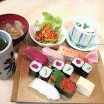松芳寿司 - にぎりセット