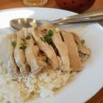 タイスマイルキッチン - カオマンガイセット800円税込