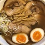 めん和正 - 料理写真:中華麺、チャーシュー、味玉