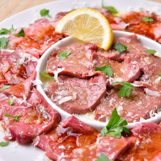 肉カルパッチョ3種盛り合わせ