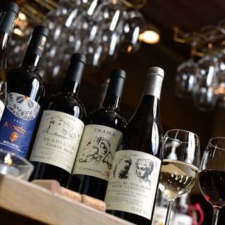 ボトルワインは2,800円均一!