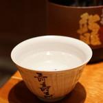 のどぐろ専門 銀座中俣 - 黒龍 龍 大吟醸 40% 山田錦