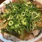 本家 第一旭 - チャーシュー麺&九条ネギ増し