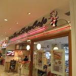 ドキンズ ハート シェイプ カフェ - お店入り口です。