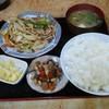 はしもと - 料理写真:野菜炒め定食ご飯大盛り