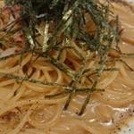 Cafe&Restaurant SWITCH BAHN - 濃厚ウニ・カニクリームパスタ