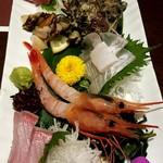 Mitsuoki - 造り盛り合わせ五種盛り