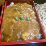 利喜庵 - 小麦粉でトロトロ…正しい蕎麦屋カレー