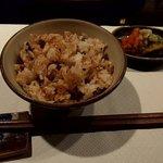 鉄板焼ステーキ Ishida. - ガーリックライス