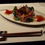 鉄板焼ステーキ Ishida. - オリジナル彩サラダ