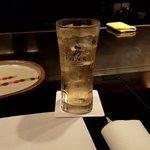 鉄板焼ステーキ Ishida. - ハイボール