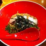 ちゃぶ屋 ズット ブランチ - 特牡蠣あぶらそば正油味かつお節風味