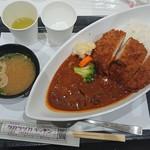 タカラヅカキッチン - カツハヤシライス¥980-