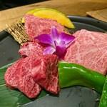 海千山千番長 - 贅沢肉盛り合わせ(5850円)