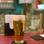 ローマ軒 - ランチビール