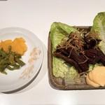 桂花飯店 - あなごの燻製煮