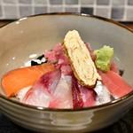 権之助FLAT - 本日の海鮮9種のっけ丼@税込1,000円