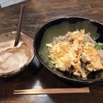 越前そば処 福乃家 - 料理写真:天おろしそば大盛1250円