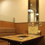 味将軍 - 店内は明るいアットホームな雰囲気。お子様連れのお客様も大歓迎です!!