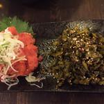 九州屋台 九太郎 - 明太子と高菜