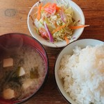 手づくり料理のお店 レストラン マツキ - セット。