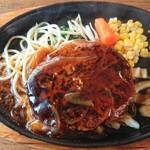 手づくり料理のお店 レストラン マツキ - ハンバーグ。