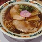 肉そば麺達 - 中華そば(醤油)