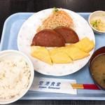 99794896 - 「ポーク玉子定食」