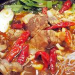 東園 - ボリュームたっぷりの国産牛肉