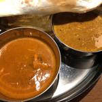 ルチラ - カレー は、キーマとバターチキン