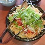 99800853 - 水菜と大根のさっぱりサラダ