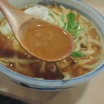 餃子市場 - 坦々麺のスープ