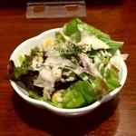 ギャルソン - ランチセットのサラダ。