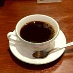 ギャルソン - ランチセットにつく珈琲。紅茶も選べます。