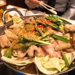 中も津屋 - 金鍋(醤油味)